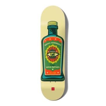 "Chocolate Skateboard Deck Hecox Essentials Kenny Anderson 8.5"""