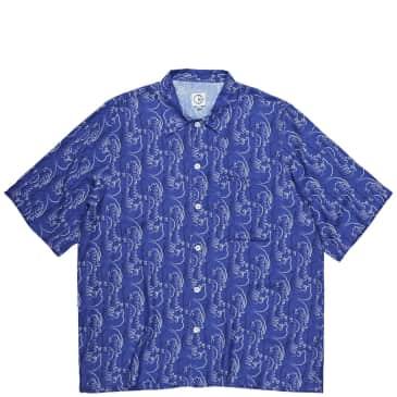 Polar Skate Co Art Shirt Faces - Purple