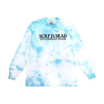 Surf Is Dead Village Green L/S T-Shirt (Teal Dye)