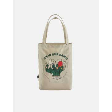 Patagonia Market Tote Bag - Wildkeepers: Bleached Stone