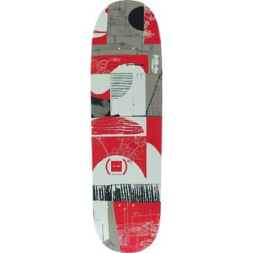 CHOCOLATE Anderson (RED) Skidul Shaped Deck 8.5