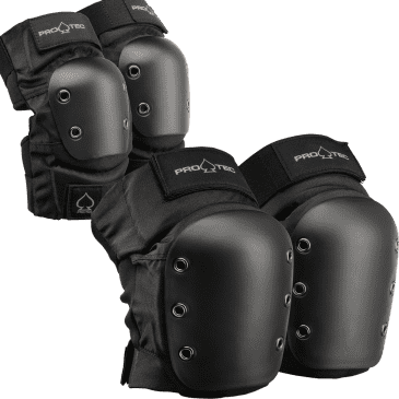 Pro Tec Street Knee / Elbow Pad Set black