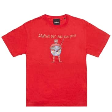 Come To My Church Dntletem T-Shirt - Red