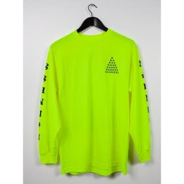 Madness Trickle Down Safety Green Long Sleeve