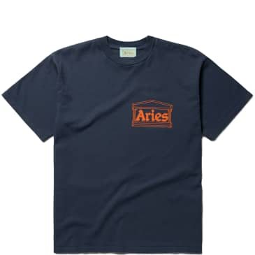 Aries Temple T-Shirt - Navy
