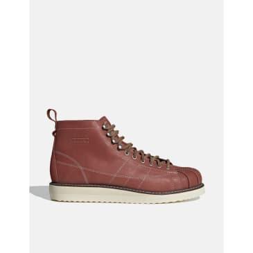 adidas Superstar Boot (FZ2642) - Wild Sepia/Off White/Brown