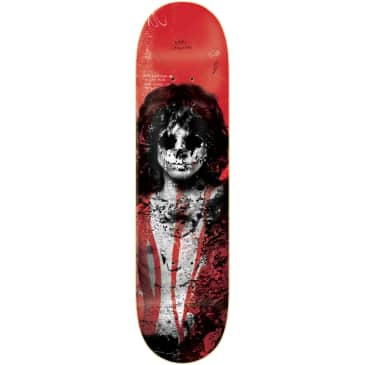 Zero Skateboards 27 Club Sandoval Deck | Red | 8.125""