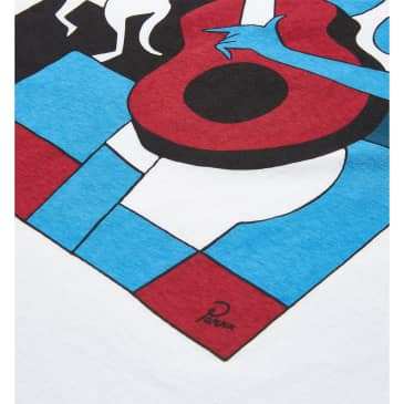 by Parra Can't Hardly Stand It Short Sleeve T-Shirt - White