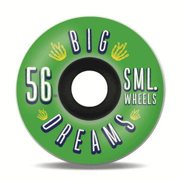 SML Wheels- Succulent Cruiser - Greenies - 56mm / 92a