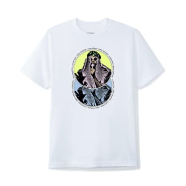 Butter Goods Cosmic Music T-Shirt - White