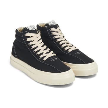 Stepney Workers Club Varden Mens Canvas Shoes - Black