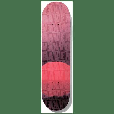 """Baker Riley Piled Red B2 Skateboard Deck - 8.125"""""""