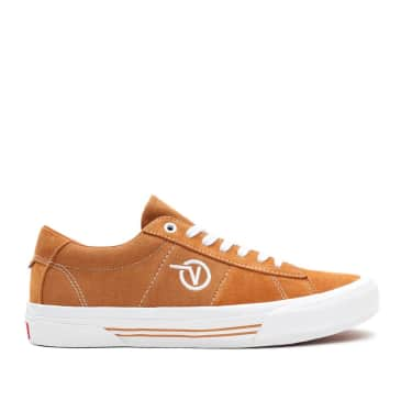 Vans Skate Sid Shoes - Pumpkin / White