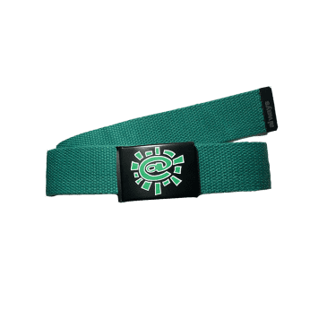 always do what you should do - green silk screen belt
