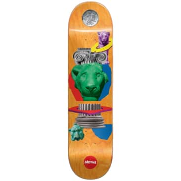 "Almost Skateboards - 8.125"" Relics John Dilo Pro Deck"