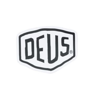 Deus Ex Machina Vinyl Sticker - White