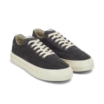 Stepney Workers Club Dellow Mens Cord Shoes - Grey
