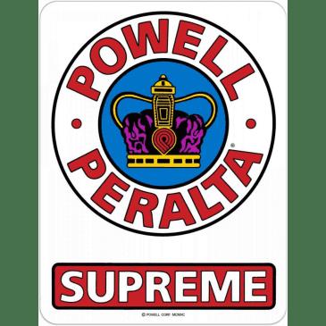 "Powell Peralta - Supreme Medium 3.5"" Sticker"