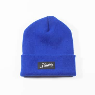 Studio Small Script Beanie - Royal