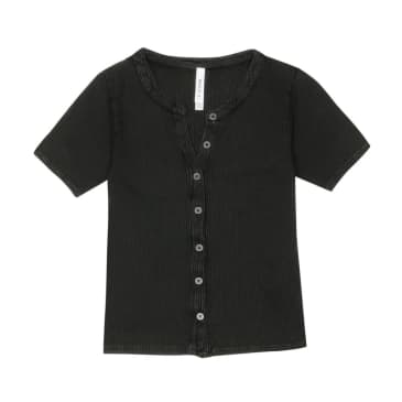 Retreat Top - Washed Black