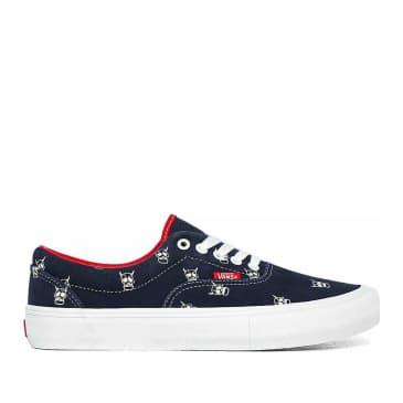 Vans Era Pro Kader Sylla Skate Shoes - Navy / Red