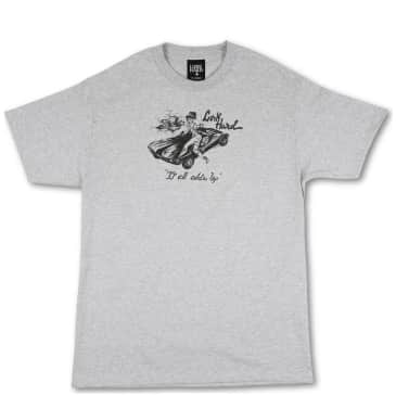 Lurk Hard It All Adds Up T-Shirt - Grey