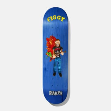 Baker Skateboards Figgy Kazi Skateboard Deck - 8.25""