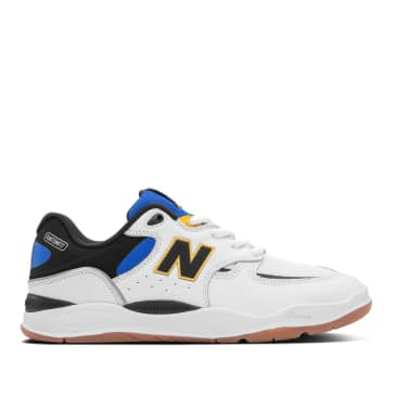 New Balance Numeric Tiago 1010 Skate Shoes - White / Blue