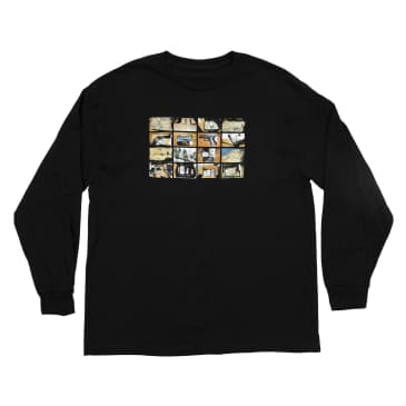 Bronze 56k Contraband Long Sleeve T-Shirt - Black
