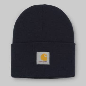 Carhartt WIP - Acrylic Watch Beanie - Dark Navy