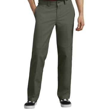 Dickies 896 '67 Flex Regular Fit Double Knee Work Pant Olive Green