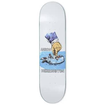 "Polar Deck Herrington Chain Smoker White 8.5"""