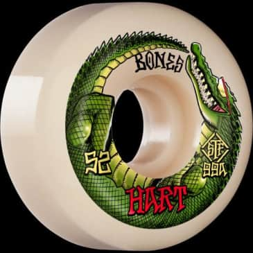 Bones Wheels Hart Speed Gator V5 Sidecut 52mm STF 99a
