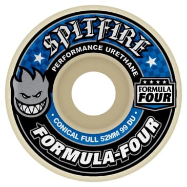 Spitfire Formula Four Conical Full Wheels 99d