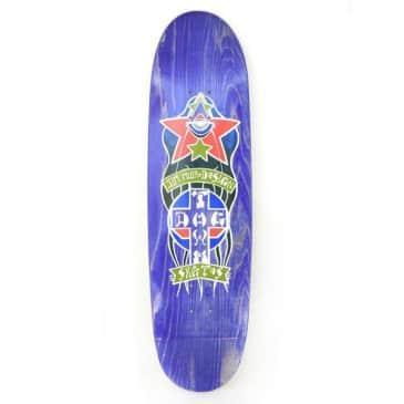 Dogtown Jim Muir Triplane Egg Skateboard Deck Purple Stain - 9.00 x 32.75