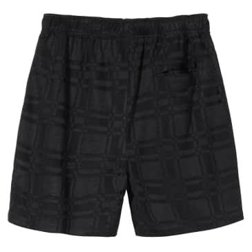 Stüssy Plaid Soccer Short - Black
