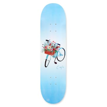 Skateboard Cafe Flower Basket Skateboard Deck 8.125""