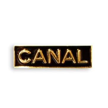 Canal New York - Logo Pin