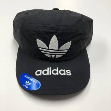 ADIDAS HAT ORIGINALS NYLON 7-PANEL BLACK/WHITE