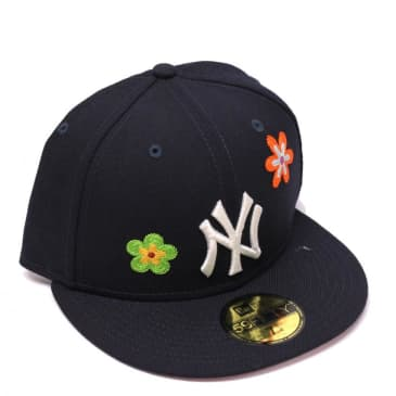 New Era - New York Yankees Fitted Cap (Navy/Multi-Color/Pink)