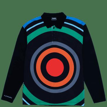 Pleasures Blue Monday Polo Shirt - Black