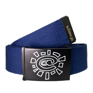 always do what you should do Canvas Belt - Navy