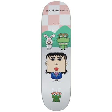 Frog Scream Your Dream Skateboard Deck - 8.6""