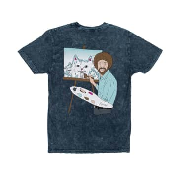 Ripndip - Rip N Dip Beautiful Mountain T-Shirt | Baby Mineral Blue