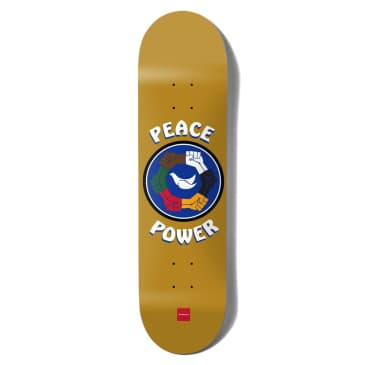 Chocolate Anderson Peace Power Skateboard Deck 8""