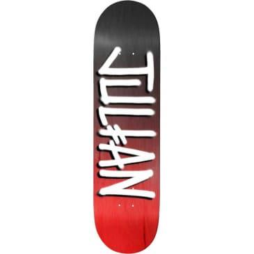Deathwish Skateboards Julian Davidson Black/Red Gang Name Deck - 8.00