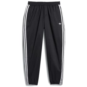 adidas Skateboarding SST Track Pants - Black / White