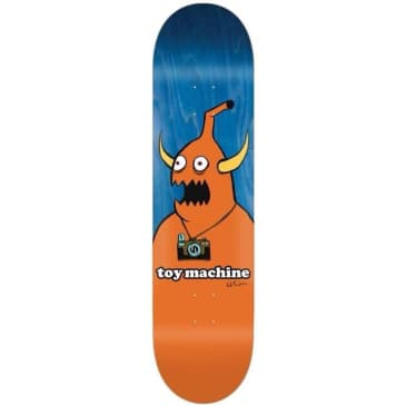 Toy Machine Ed Templeton Camera Monster 8.5""