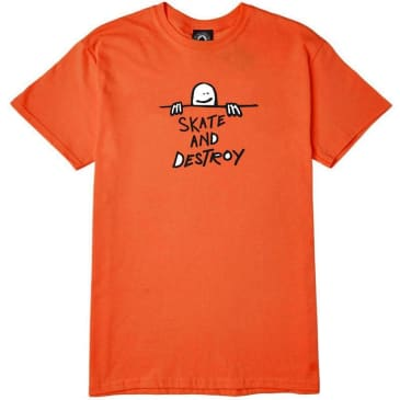 Thrasher Gonz Skate and Destroy Logo T-Shirt - Orange