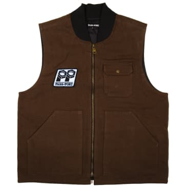 Pass~Port Packers Vest - Chocolate